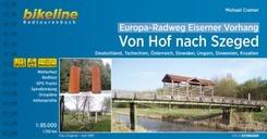 Bikeline Radtourenbuch Europa-Radweg Eiserner Vorhang, Von Hof nach Szeged