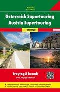 Freytag & Berndt Atlas Österreich Supertouring / Austria Supertouring 1:150.000