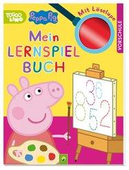 Peppa Pig -  Mein Lernspielbuch mit Löselupe
