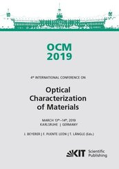 OCM 2019 - Optical Characterization of Materials : Conference Proceedings