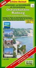Doktor Barthel Karte Ostseeküsten-Radweg von Travemünde nach Ahlbeck