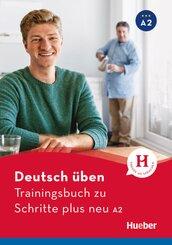 Schritte plus Neu - Deutsch als Fremdsprache / Deutsch als Zweitsprache: Trainingsbuch zu Schritte plus neu A2; 3+4