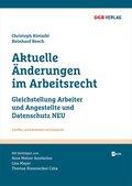 Aktuelle Änderungen im Arbeitsrecht, m. 1 E-Book