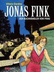 Jonas Fink Gesamtausgabe -  Der Buchhändler von Prag, m. DVD-Video u. sign. Druck