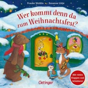 Wer kommt denn da zum Weihnachtsfest?