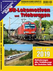 DB-Lokomotiven und Triebwagen - Stand 1. Juli 2019