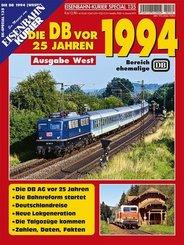 Die Deutsche Bahn AG vor 25 Jahren - 1994, Ausgabe West