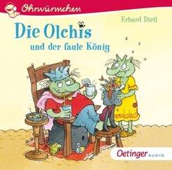 Die Olchis und der faule König, 1 Audio-CD