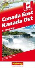 Kanada Strassenkarte Ost / Canada East 1:2.5 Mio