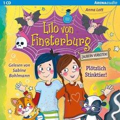 Lilo von Finsterburg - Zaubern verboten! - Plötzlich Stinktier!, 1 Audio-CD