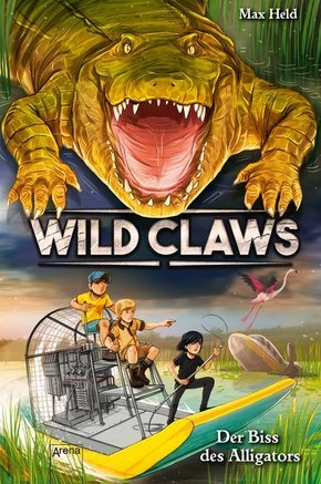 Wild Claws. Der Biss des Alligators