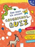 Das muss ich wissen - Grundschul-Quiz, 1. Klasse