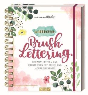 Watercolor Brushlettering