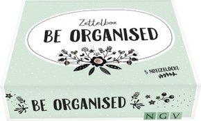 Be organised - Die Zettelbox - 5 Notizblöcke mit je 60 Blatt