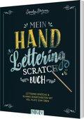Mein Handlettering Scratch Buch, m. Holz-Stick