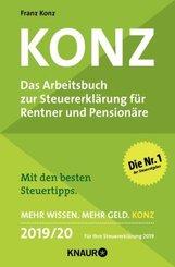 Konz, Das Arbeitsbuch zur Steuererklärung für Rentner und Pensionäre 2019/20
