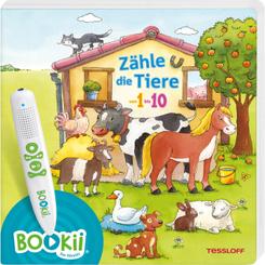 BOOKii Zähle die Tiere von 1 bis 10