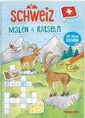 Schweiz. Malen & Rätseln