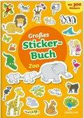 Großes Sticker-Buch. Zoo