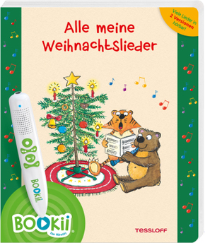 BOOKii® Alle meine Weihnachtslieder