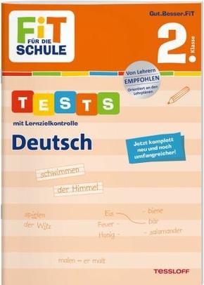 Tests mit Lernzielkontrolle, Deutsch 2. Klasse