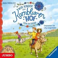 Wir Kinder vom Kornblumenhof - Kühe im Galopp, 1 Audio-CD