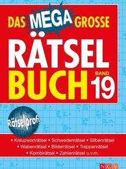 Das megagroße Rätselbuch - Bd.19