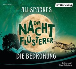Die Nachtflüsterer - Die Bedrohung, 4 Audio-CDs