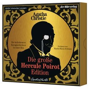 Die große Hercule-Poirot-Edition, 12 Audio-CDs