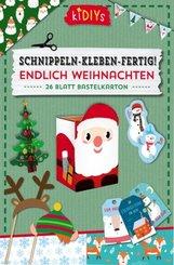 Schnippeln - Kleben - Fertig! Endlich Weihnachten, 3 Teile