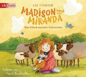 Madison und Miranda - Das Glückskatzen-Geheimnis, 1 Audio-CD