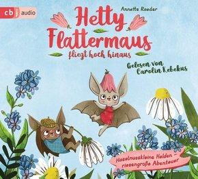 Hetty Flattermaus fliegt hoch hinaus, 2 Audio-CDs