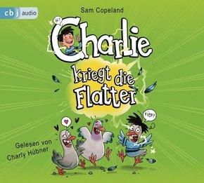Charlie kriegt die Flatter, 2 Audio-CDs