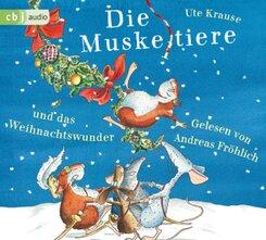 Die Muskeltiere und das Weihnachtswunder, 3 Audio-CDs