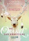 Das Orakel der Krafttiere, 68 Orakelkarten m. Anleitungsbuch