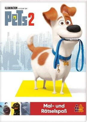Pets 2. Mal- und Rätselspaß