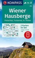 KOMPASS Wanderkarte Wiener Hausberge, Pielachtal, Traisental, St. Pölten