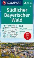 KOMPASS Wanderkarte Südlicher Bayerischer Wald