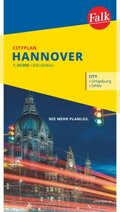 Falk Cityplan Hannover 1:20.000