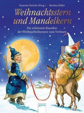 Weihnachtsstern und Mandelkern