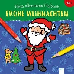 Mein allererstes Malbuch - Frohe Weihnachten