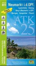ATK25-H11 Neumarkt i.d.OPf. (Amtliche Topographische Karte 1:25000)