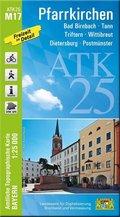 ATK25-M17 Pfarrkirchen (Amtliche Topographische Karte 1:25000)
