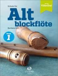 Jede Menge Flötentöne!, Schule für Altblockflöte - Tl.1