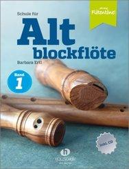 Schule für Altblockflöte, m. CD-Extra - Bd.1