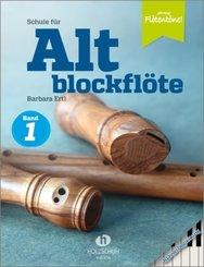 Jede Menge Flötentöne!, Schule für Altblockflöte 1 - Klavierbegleitung - Tl.1