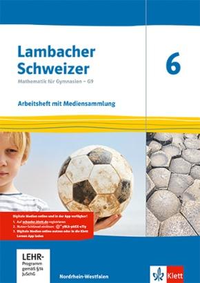 Lambacher-Schweizer, Ausgabe Nordrhein-Westfalen G9 ab 2019: Lambacher Schweizer Mathematik 6 - G9. Ausgabe Nordrhein-Westfalen, m. 1 Beilage