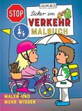 Sicher im Verkehr Malbuch