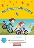 Rechtschreib-Stars - Neubearbeitung 2018: 4. Schuljahr - Übungsheft
