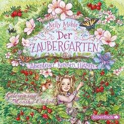 Der Zaubergarten - Abenteuer können fliegen, 3 Audio-CDs